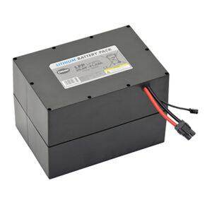 Maskinen leveres standard med litium batteriet